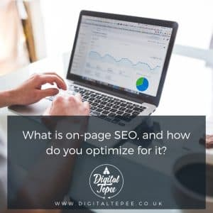 On Page SEO